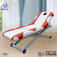 portable massage table,hydraulic electric facial chair bed with CE (KM-8812)