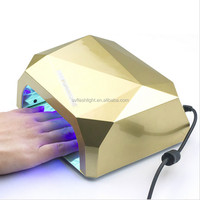 il Art Lamp Light Care Machine CCFL 36W Diamond Shaped Best Curing LED Lamp Nail Dryer for UV Gel Nail Polish EU Plug