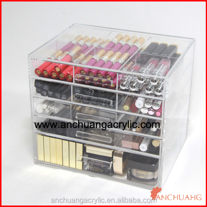 Acrylic Cosmetic Organizer With Drawers