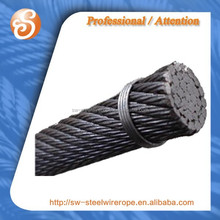 35x7 non-rotating steel wire ropes