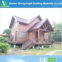 Log house timber frame house kit homes prefab modular home construction