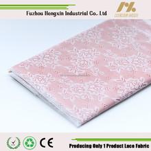 fuzhou lace 2015 new 100 nylon lace fabric for night dress wedding dress white lace fabric