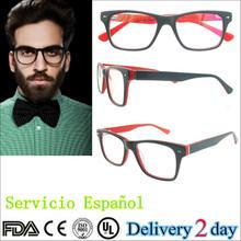 Monturas ópticas de lentes accesorios Vintage Retro gafas ópticas oculos de ojo nerd Grau venta por mayor de China