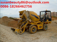 China production factory of mixing machine mini self loader concrete mixer for export