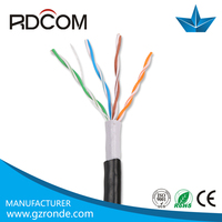 flat utp cat 5 lan cable outdoor cable