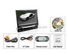 998 model good price 9 inch car headrest dvd player With DVD CD MP4 MP5 USB