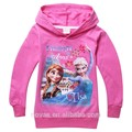 Congelado crianças personalizado Hoodies roupas para meninas camisola com capuz inverno desgaste