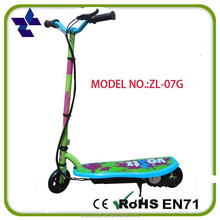Easy-operation kids scooters with rubber wheels