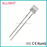 High quality low price 5mm flat top blue led