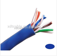 indoor cat5e utp lan cable solid custom color 4p 24awg