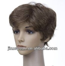 natrual body wave short style synthetic lace front wigs for black women