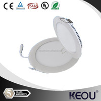 Modern Design ultra thin 3w led round downlight with CE TUV