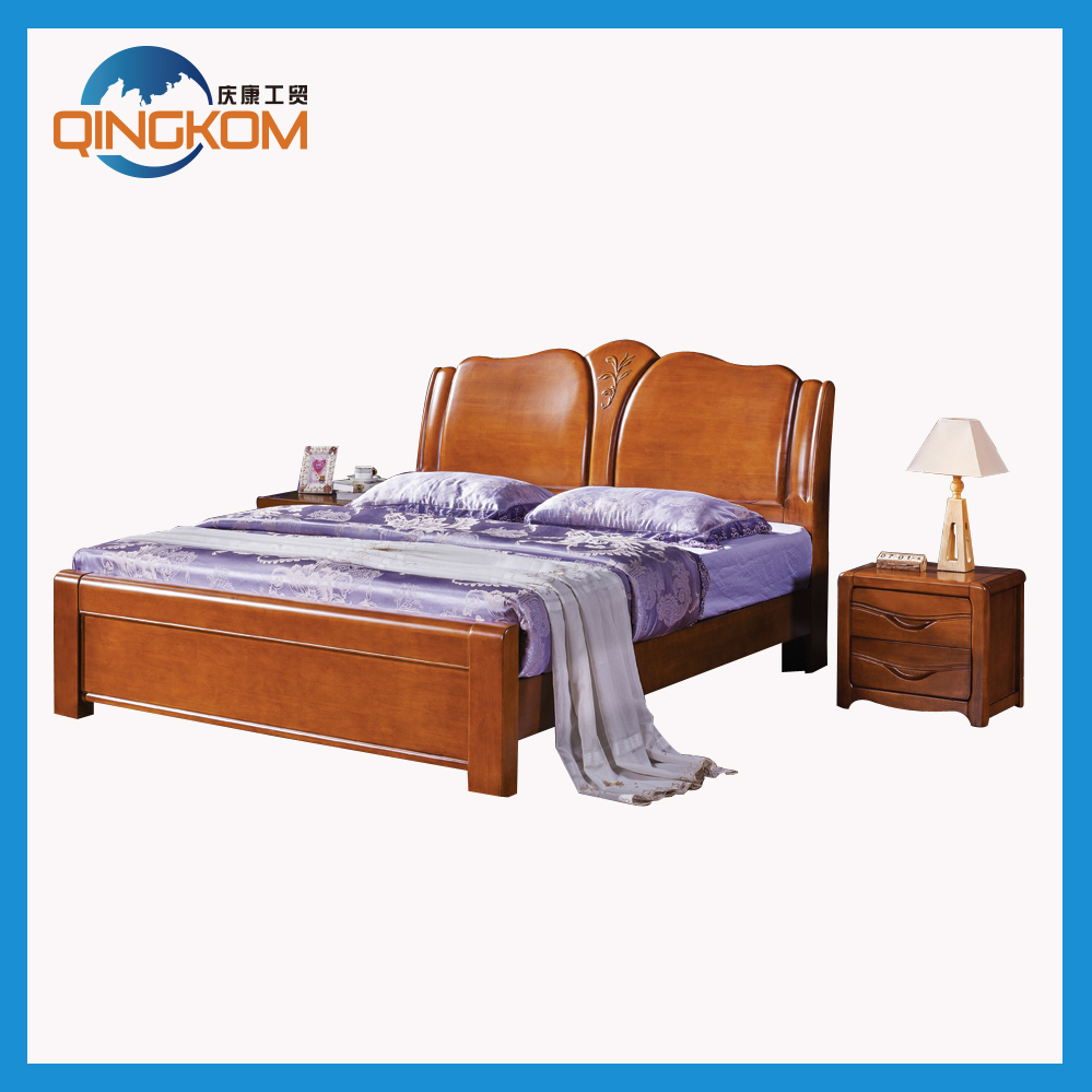 Hot sale adult latest double bed designs for Latest bed designs