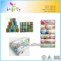 printed PVC adhesive border,wall border sticker,removable wall borders