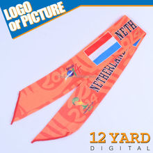 Best quality soccer match cheap nylon elastic sport cool headband for handsome