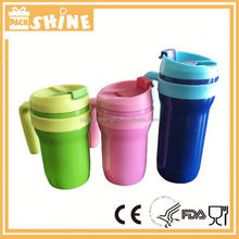 Colorful Painting Double Wall Insulated Drinking Vacuum Flask Keeps Drinks Hot And Cold
