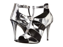 silvery High Heel Shoes Women Sexy Stiletto Pumps Shoes / High Heel For Sexy Women/Evening High Heel Shoes