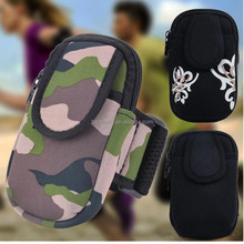 Fashion Unisex Outdoor Gym Bag Sports Package Running Arm Wrist Bag Fitness Purse