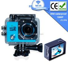 Hot sale in market waterproof 1440p 1080p digital sport video camera