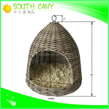 Professional fashionable PE rattan wicker cat house