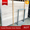 Crystal wood grain white wooden marble price