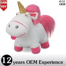 CHStoy stuffed despicable me plush toy unicorn