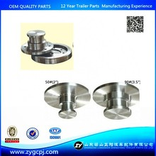 Top quality semi trailer hardening 90mm 3.5inch king pin welded and bolton king pin