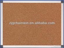 Aluminum Frame Pin Bulletin Cork Board Notice Board