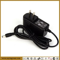 CB CE GS BS approval 12v wall-mounted power Supply 12W power adapter for cctv,ip,hd camera