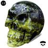 Wholesale 100% natural gemstone human head skull for home decor #DOI