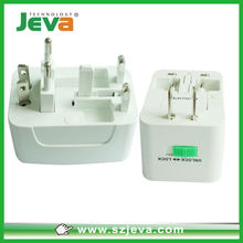 Plug socket Type and Travel using Application US universal travel adapter