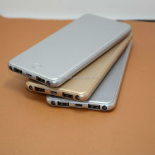 5000mAh power bank with glod, silver, gray color