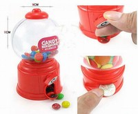 candy/gumball dispenser/vending machine with money pot