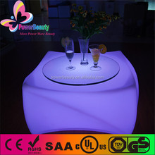 wholesale led furniture led table made in china, bar illuminated led table