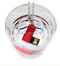 Hot sell waterproof metal swivel mini usb flash drive
