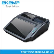 Android terminal punto de venta con la cámara, 1d/2d escáner de código de barras, sin contacto de tarjeta de lector( ep700)