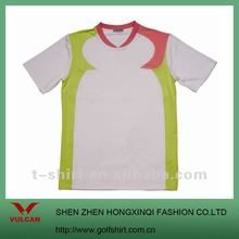 2012 Fashion Breathable Outdoor Sport V Neck T shirt