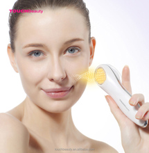 Water proof rechargeable electric facial massage device removing wrinkles