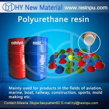 High quality liquid polyurethane resin for climbing holds