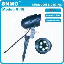 New bright low voltage 12V 6w led flood light , garden led light for garden park lighting