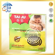 140mm black mosquito incense for mosquito killing