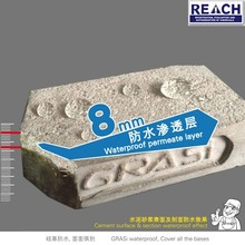 Good compression resistance nano silicon waterproofing coating for roofs