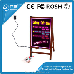 Most demanded products China 2014 magnetic led electric advertising board bulletin board,magnetic dry wipe board for shops promo