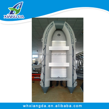 2015 CE Certificate China Factory High Quality Durable PVC Inflatable Double Boats
