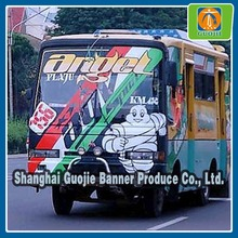 football club car sticker opaque adhesive pvc sticker for advertising