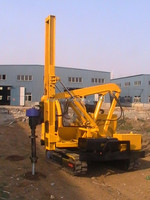 Used Piling Equipment For Solar Panel System