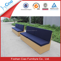 MR DREAM outdoor furniture garden rattan chaise lounge sofa bed outdoor sun bed