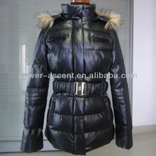 las mujeres de la pu de cuero chaquetas abrigos