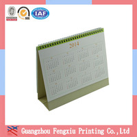 2014 Colorful Weekly Calendar Hot Sale Offset Paper Office Calendar
