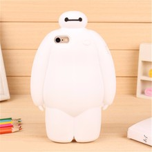 silicone cover case baymax case for iphone 5/5S/6/6 PLUS